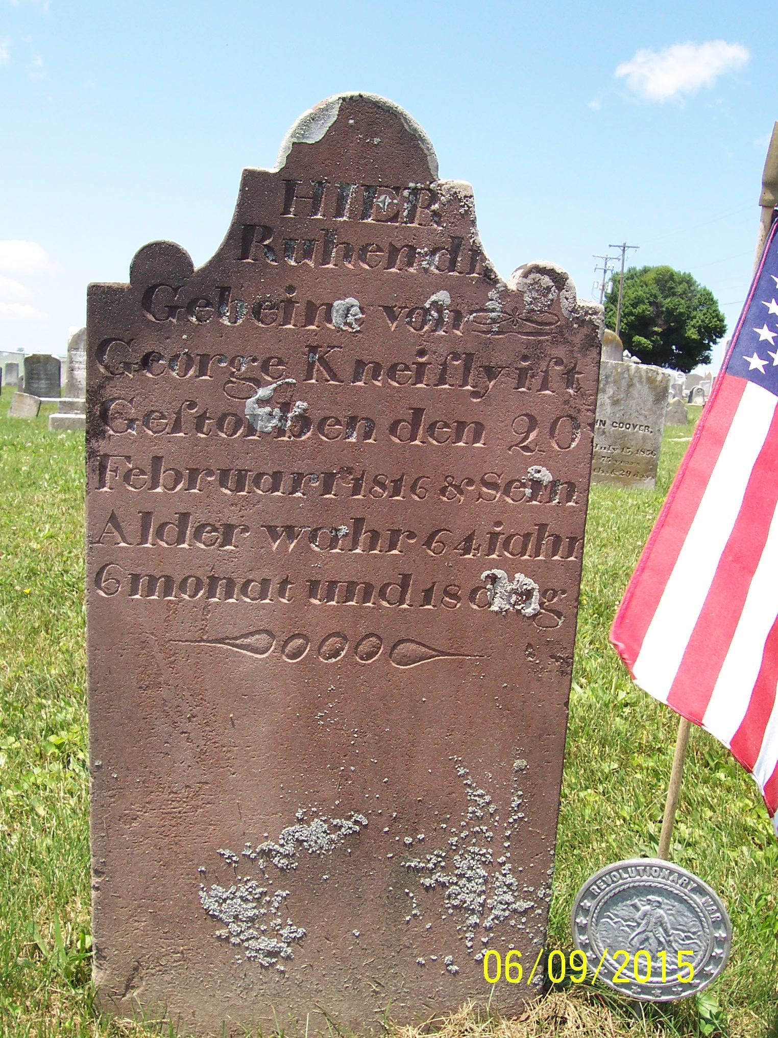 george jr headstone